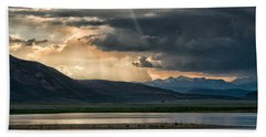 Crowley Lake Hand Towel