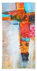 Cruciform 3 Bath Towel by Nancy Merkle