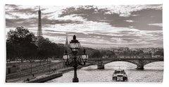 Cruise On The Seine Hand Towel