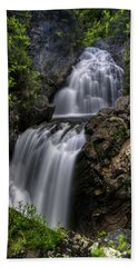 Crystal Cascade In Pinkham Notch Hand Towel