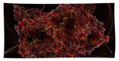 Bath Towel featuring the digital art Crystal Inspiration #2 by Olga Hamilton