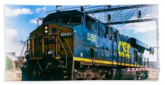 Csx 5292 Warner Street Crossing Hand Towel