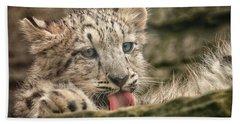Cub And Tongue Bath Towel