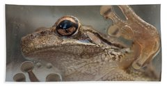 Cuban Treefrog Hand Towel by Paul Rebmann