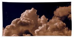Clouds Bath Towel by Salman Ravish