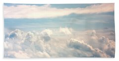 Cumulus Clouds Bath Towel