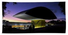 Curitiba - Museu Oscar Niemeyer Hand Towel