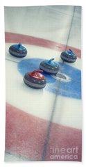 Curling Stones Bath Towel