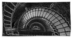 Currituck Lighthouse Stairs Hand Towel