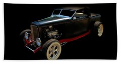 Old Car Hand Towel featuring the photograph Custom Hot Rod by Aaron Berg