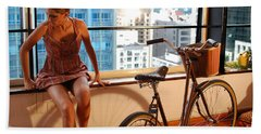 Cycle Introspection Hand Towel