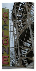 Cyclone - Roller Coaster Hand Towel