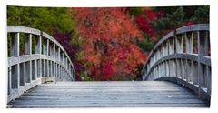 Cypress Bridge Hand Towel by Sebastian Musial