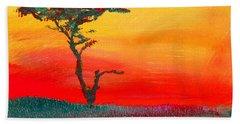 Cypress Sunrise Hand Towel