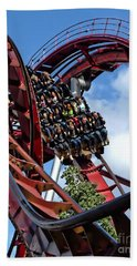 Daemonen - The Demon Rollercoaster - Tivoli Gardens - Copenhagen Hand Towel