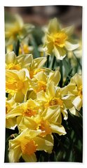 Daffodil Hand Towel by Bill Wakeley