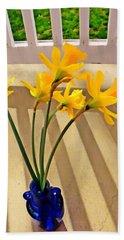 Daffodil Boquet Bath Towel