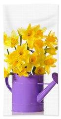 Daffodil Display Bath Towel