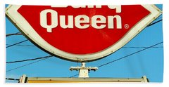 Dairy Queen Sign Bath Towel