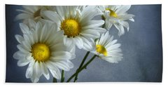 Bath Towel featuring the photograph Daisy Bouquet by Ann Lauwers