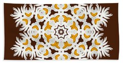 Daisy Mandala  12t Hand Towel by Variance Collections