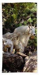 Dakota Mountain Goats Bath Towel