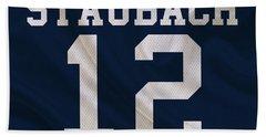 Dallas Cowboys Roger Staubach Hand Towel