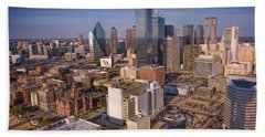 Dallas Skyline Hand Towel
