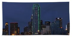 Dallas Skyline Bath Towel