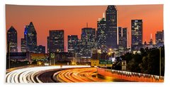 Dallas Sunrise Bath Towel