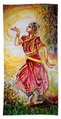Dance 2 Hand Towel by Harsh Malik