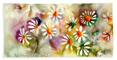 Dance Of The Daisies Hand Towel