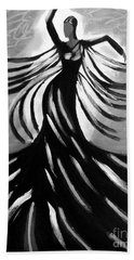 Dancer 2 Hand Towel by Anita Lewis