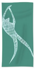 Dancer Bath Towel