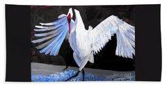 Dancing Crane Hand Towel