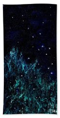 Dancing Fireflies Bath Towel