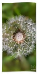 Hand Towel featuring the photograph Dandelion by Carsten Reisinger