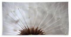 Dandelion Cross Section Bath Towel by Kenny Glotfelty