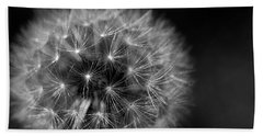 Hand Towel featuring the photograph Dandelion Fluff by Rebecca Davis