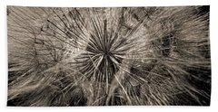 Hand Towel featuring the digital art Dandelion by Maciek Froncisz