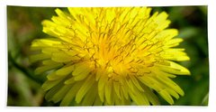 Bath Towel featuring the digital art Dandelion by Ron Harpham