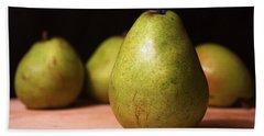 D'anjou Pears Hand Towel by Joseph Skompski