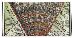 Dante's Inferno, C1520 Hand Towel by Granger