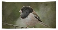 Dark-eyed Junco  Bath Towel