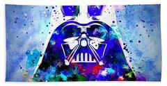Darth Vader Star Wars Hand Towel by Daniel Janda