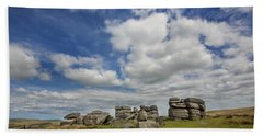 Dartmoor Tor Bath Towel