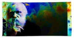 Darwinism Hand Towel by Elizabeth McTaggart