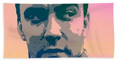 Dave Matthews Portrait Poster Hand Towel