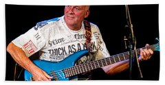 Dave Pegg Bass Player For Fairport Convention And Jethro Tull Hand Towel