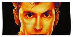 David Tennant Bath Towel